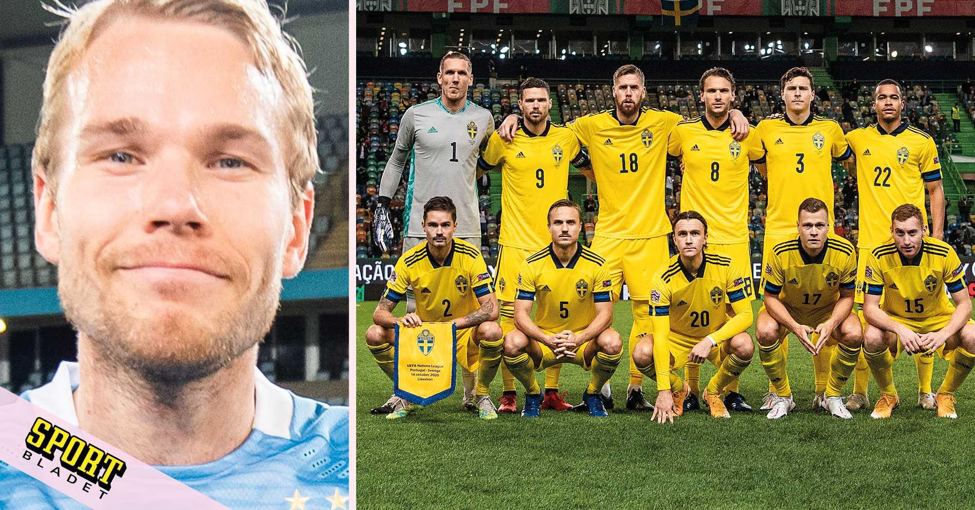 """Lewicki hade varit Sveriges bästa mittback"""""""