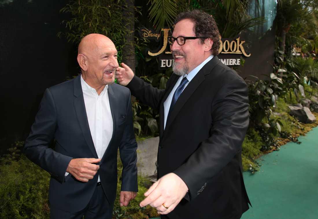 Jon Favreau och Sir Ben Kingsley.