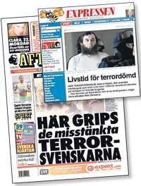 Expressen och Aftonbladet förra året.