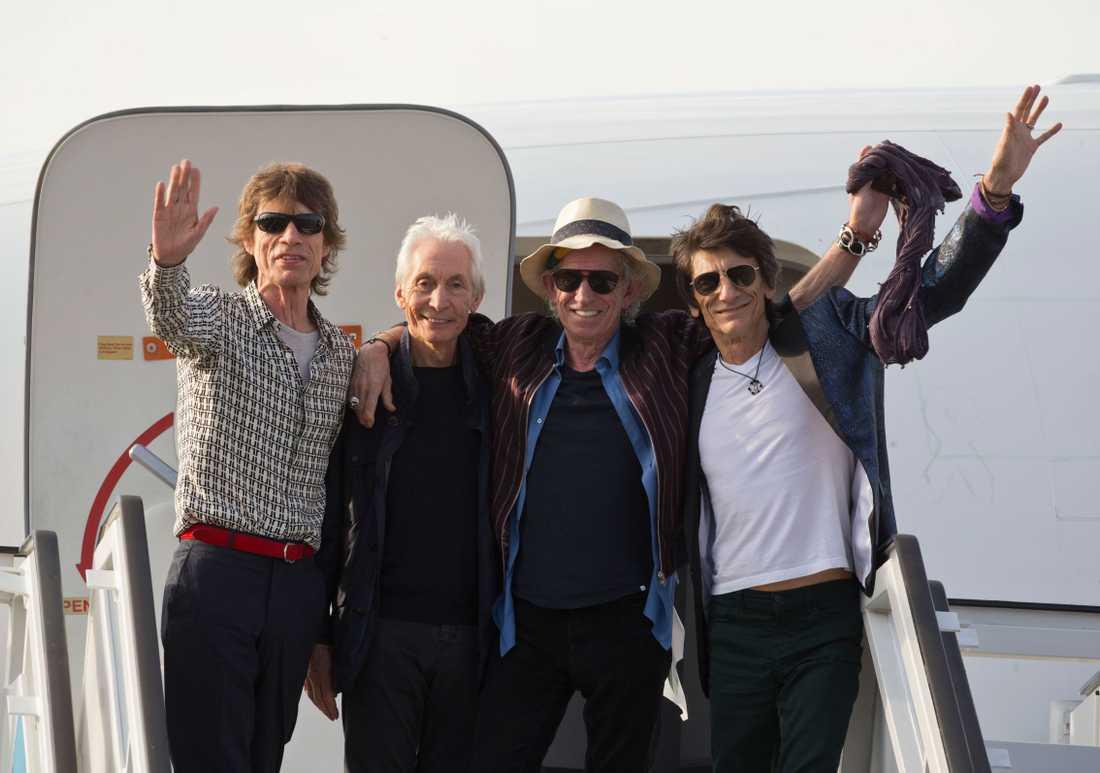 Rolling Stones kan också vara på väg till festivalen...