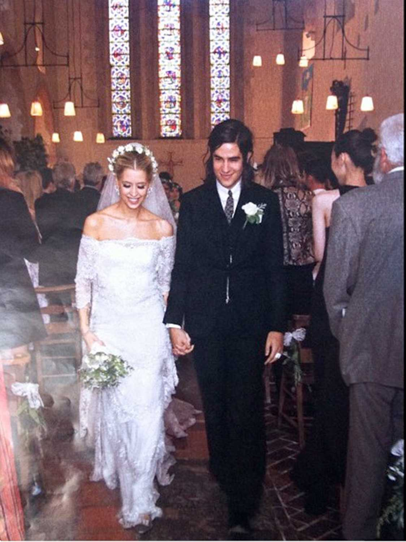 Peaches Geldof och Thomas Cohen gifte sig i Little White Wedding Chapel i Las Vegas den 8 september 2012.