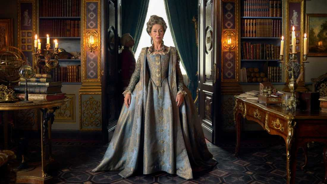 "Helen Mirren i ""Catherine the Great""."