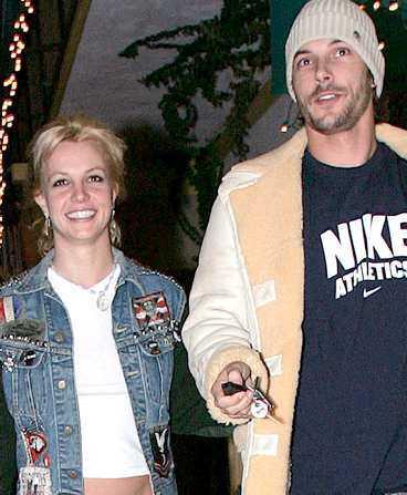 Tittarras för Britney och Kevin.