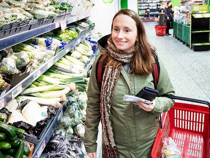 Veckan är räddad. Hanna Olvenmark skapar menyer för 300 kr i veckan. Det handlar om att tänka smart och planera.