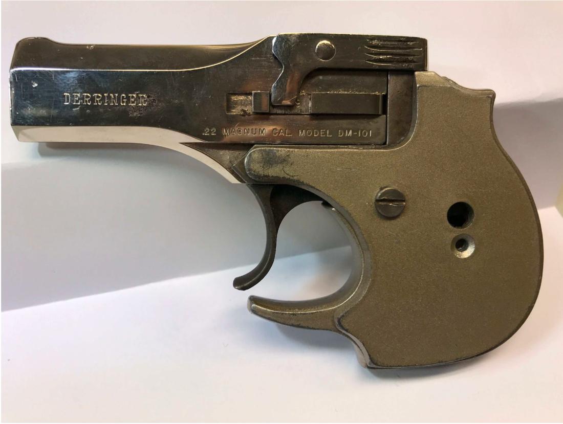 """""""Den mindre storleken på pistolen gör den till ett utmärkt vapen för dolt bärande"""", skrev polisen."""