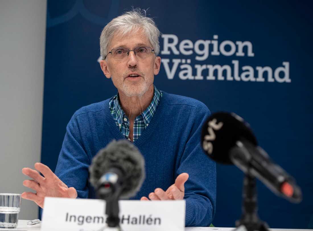 Ingemar Hallén, verksamhetschef och smittskyddsläkare i Region Värmland.