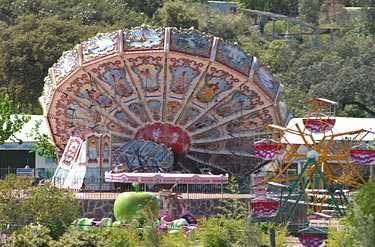 Olyckan inträffade på nöjesparken i Guillena, i södra Spanien.