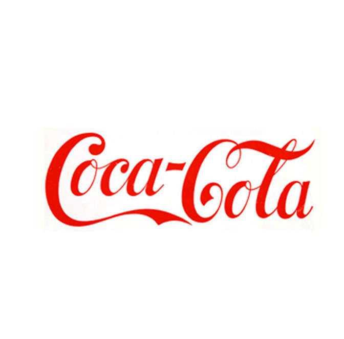 Coca-Cola: 0 kronor Cola-uppfinnaren John Pembertons revisor hittade på namnet och valde typsnittet Spencerian.