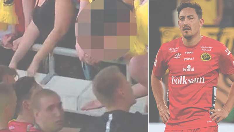 Det i måndags som Stefan Ishizaki hamnade i en konfrontation med en av klubbens supportrar.