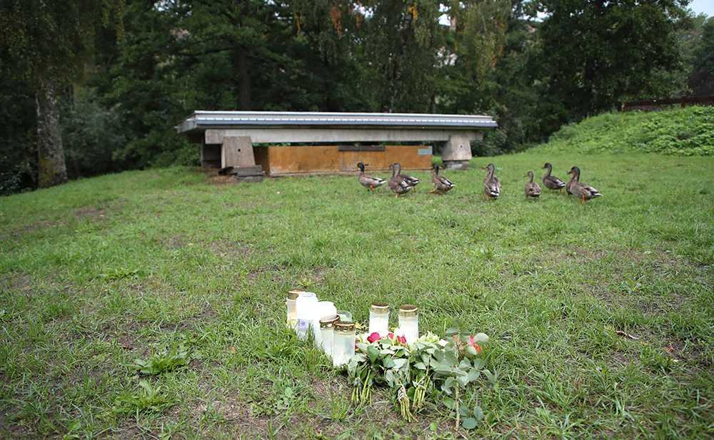"""Den 8:e augusti mördades """"Gica"""", 48, i  en park i Huskvarna."""