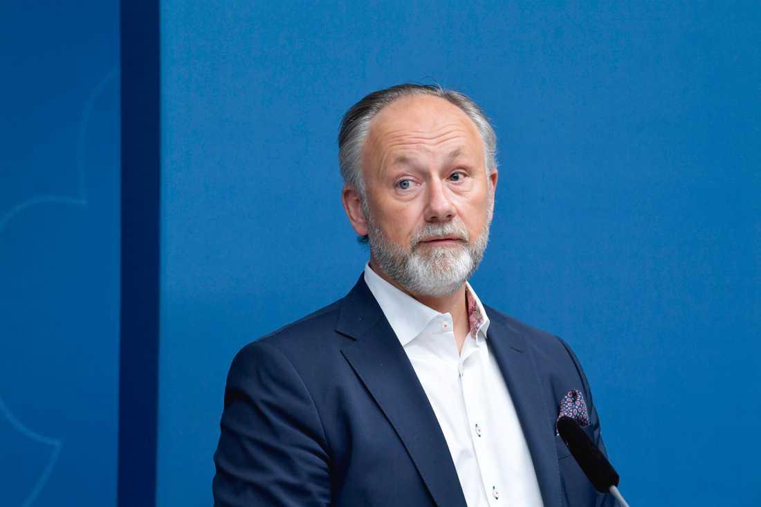 Jonas Siljhammar, vd på Visita.