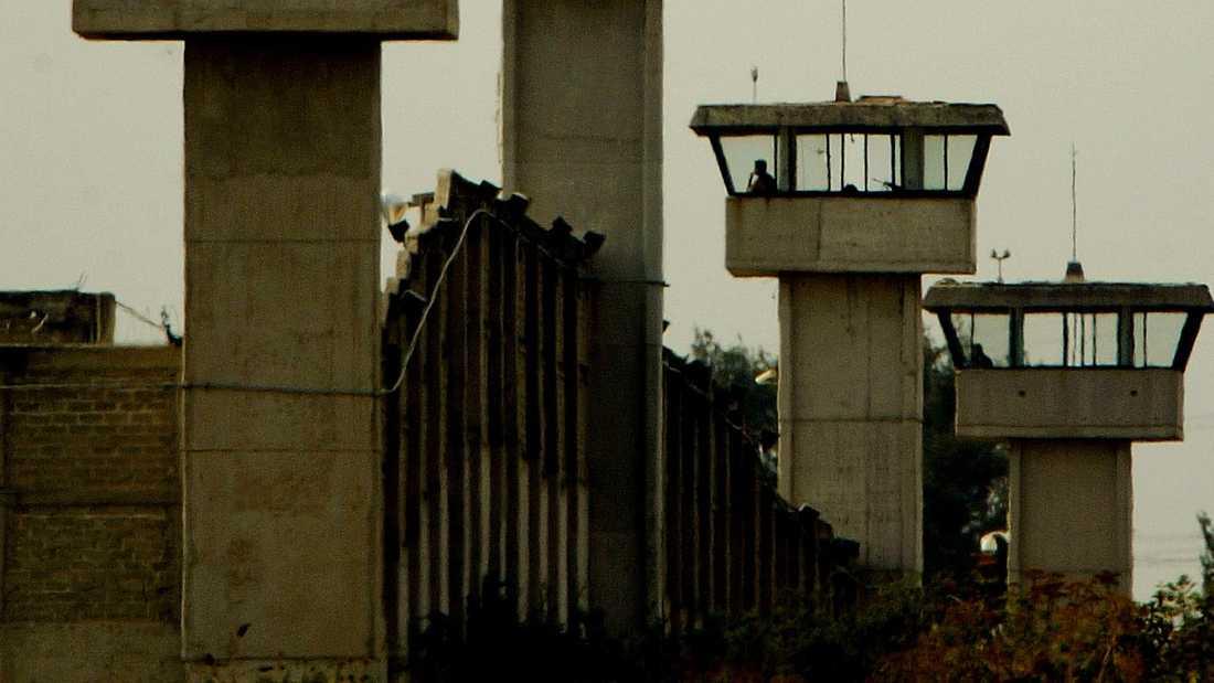 Övervakningstorn vid fängelsekomplexet Puente Grande i utkanten av Guadalajara i Mexiko. Arkivbild.