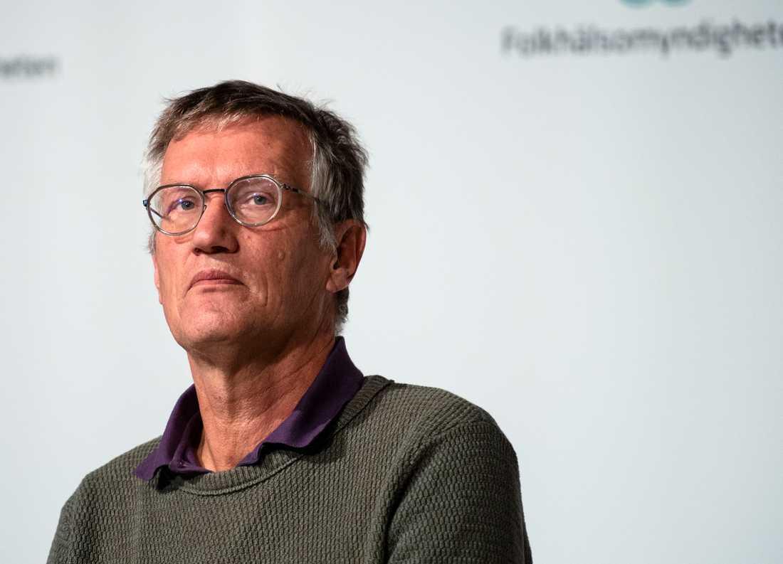 Inget inrapporterat fall har varit över 65 år, säger Anders Tegnell.