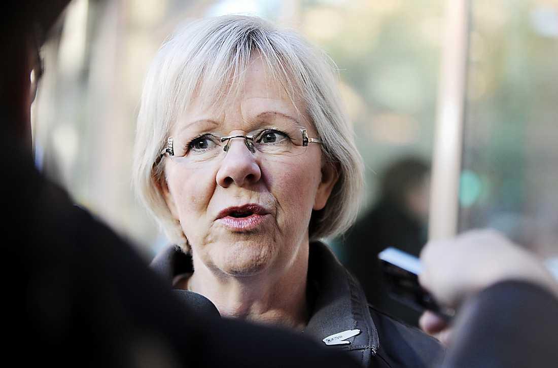 Wanja Lundby-Wedin, 59, LO-ordförande som avgår i maj. Ligger något till vänster i partiet och står upp för grundläggande fackliga värderingar.