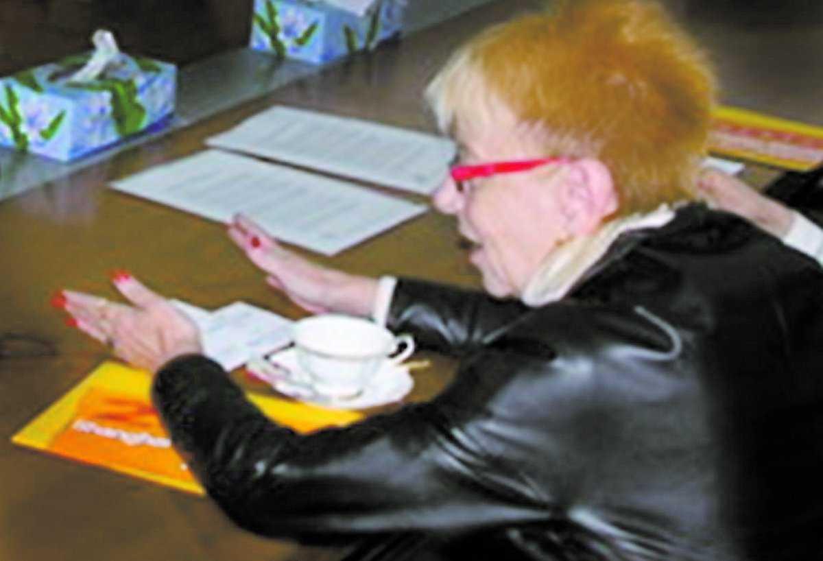Karin Hedgårds fick oönskade påstötningar.