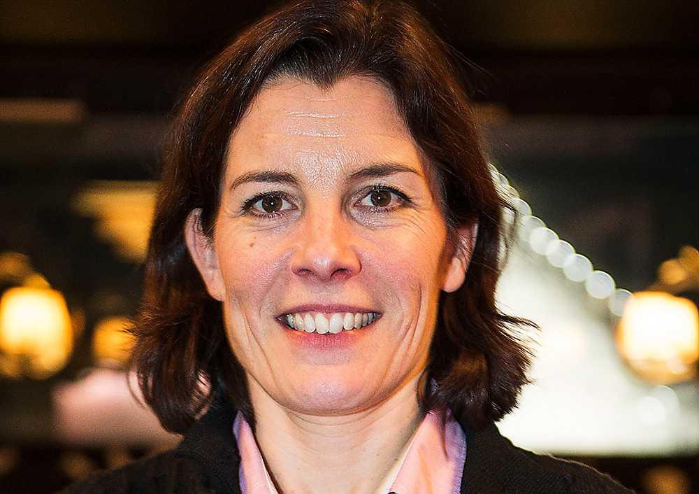 Fd försvarsminister Karin Enström (M).