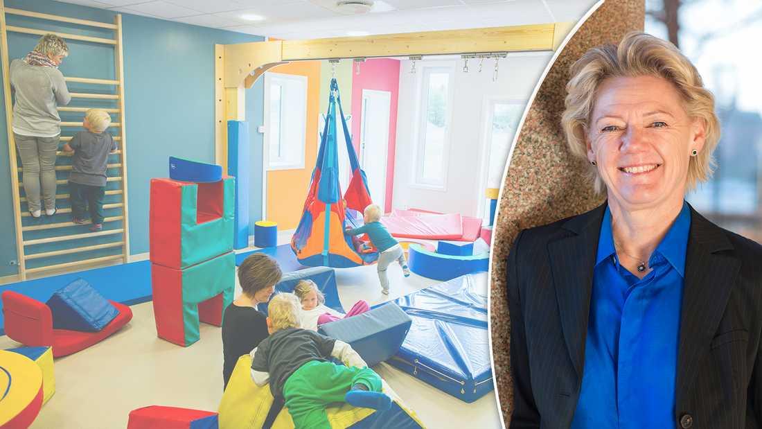 Forskningen kan inte säga hur stor en barngrupp bör vara, skriver Ulla Hamilton, Friskolornas riksförbund.