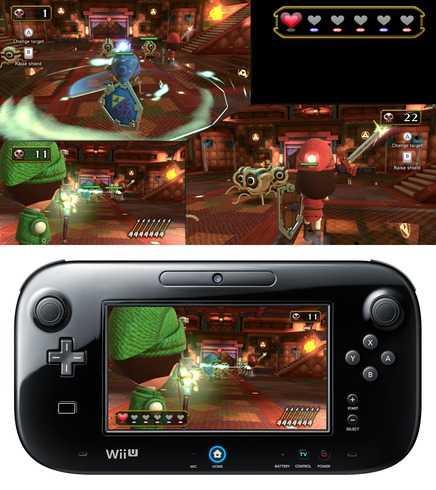 """""""Nintendo land"""" är ett av de första spelen till nya Wii U."""