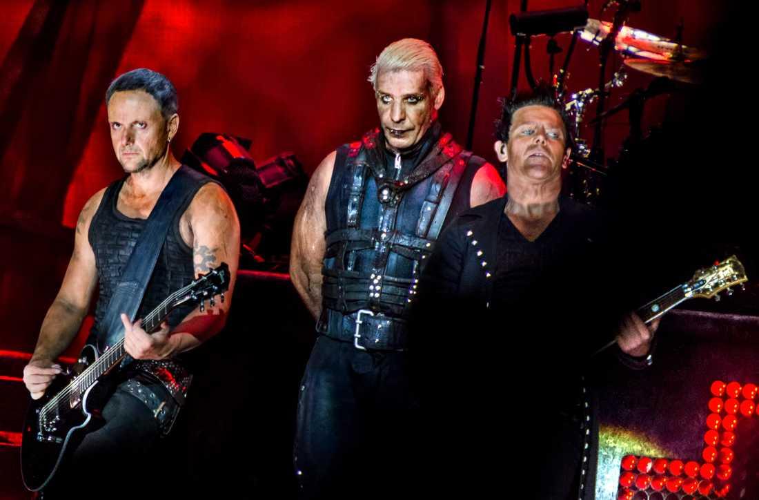 Rammstein ställer in turnén i sommar. Arkivbild.