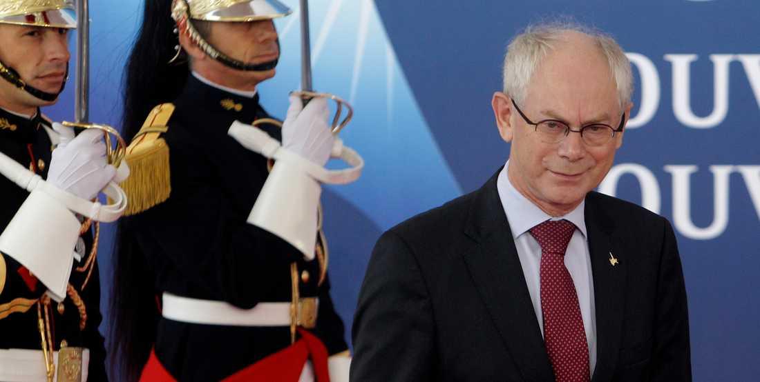 Europarådets ordförande Herman Van Rompuy.