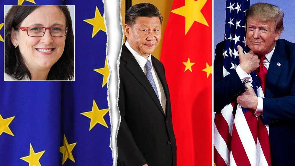 Vi har förlorat det teknologiska ledarskapet till Kina och USA. Vi ligger efter i forskning och innovation. Det underminerar både vår långsiktiga konkurrenskraft, men också vår strategiska position, skriver Cecilia Malmström, utgående EU-kommissionär med ansvar för handel (L).