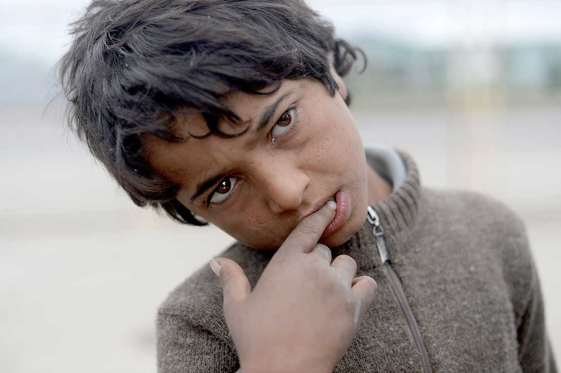 Mohamed, 10, såg sina två bröder mördas av IS.