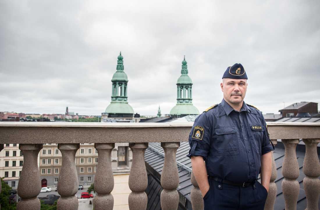 Regionpolischefen i Stockholm Ulf Johansson.