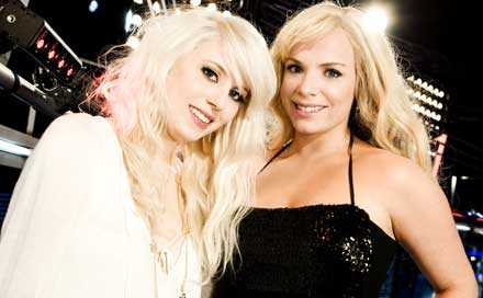 Amanda Jenssen och Marie Picasso. En av dem vinner Idol 2007.