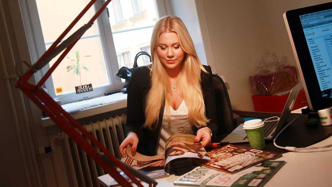 Isabella Löwengrip säljer sin nuvarande bostad.