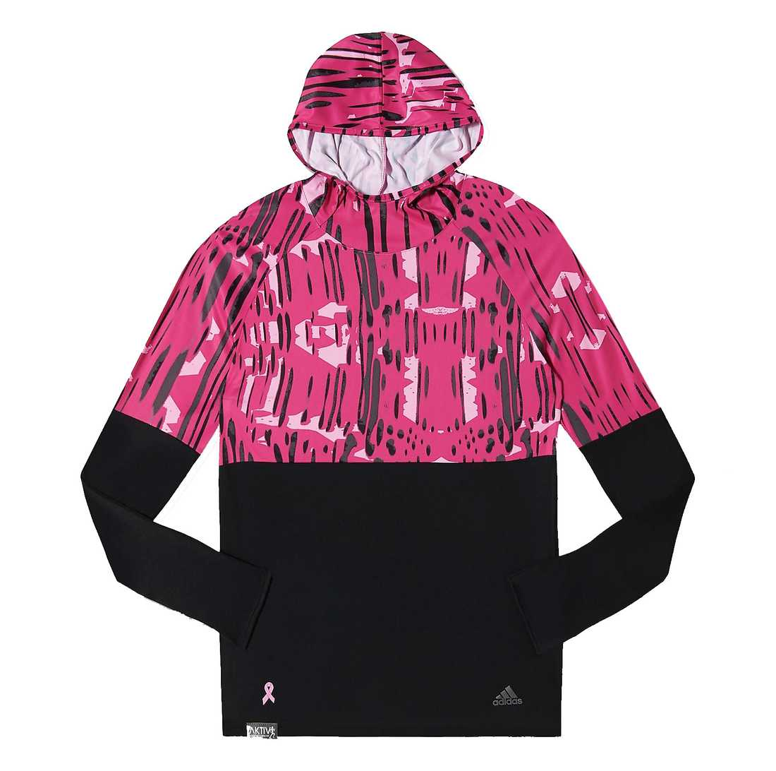 Spring för livet Ta dig en tur i löparspåret med denna jacka med huva. Du gör det inte bara för din egen hälsas skull! En del av försäljningspriset går  till cancerforskning. Träningsjacka, 450 kronor, Adidas.se