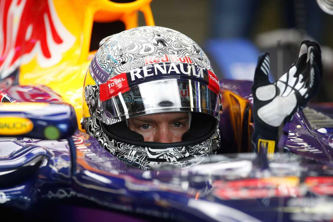 Sebastian Vettel på Monza 2014.