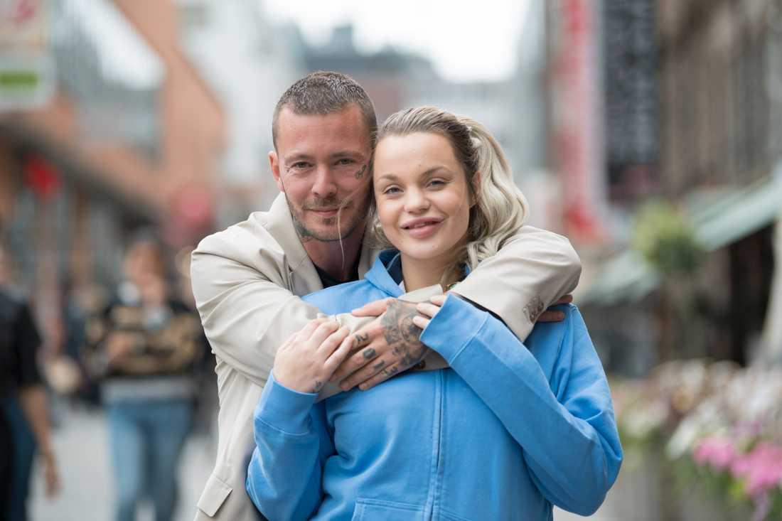 Joakim Lundell och Jonna Lundell.