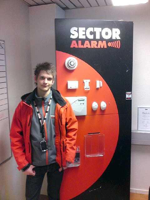 Jens Gyllegård, 20, sökte - och fick jobb via Aftonbladets kampanj.