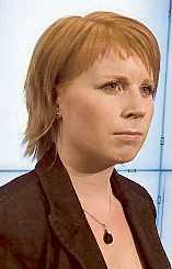 Annie Johansson.
