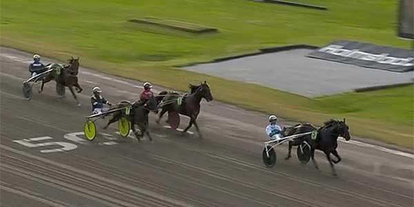 Don Fanucci Zet och Örjan Kihlström vann försöksheat tre.