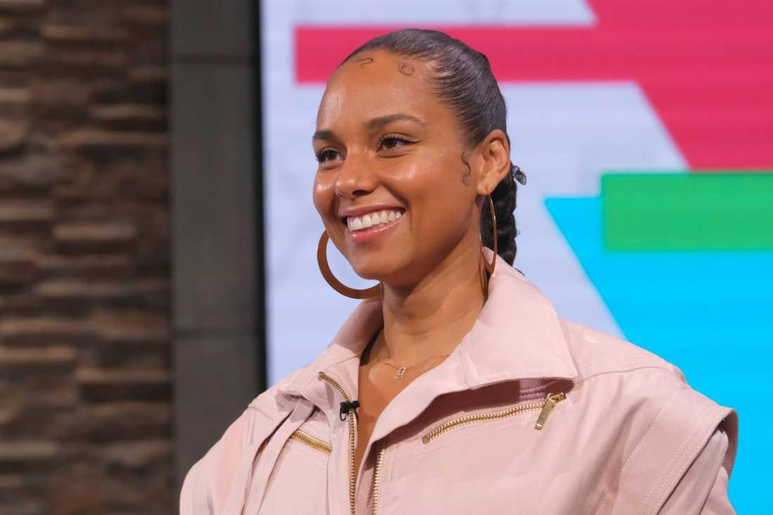 """Alicia Keys är exekutiv producent för dokumentärfilmen """"American masters: how it feels to be free"""". Arkivbild."""