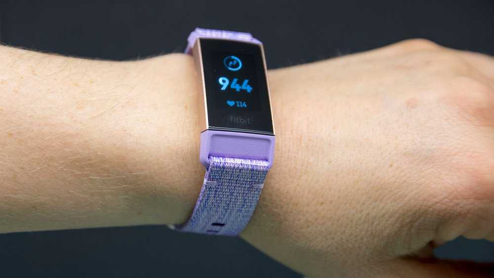 Test av Fitbit Charge 3.