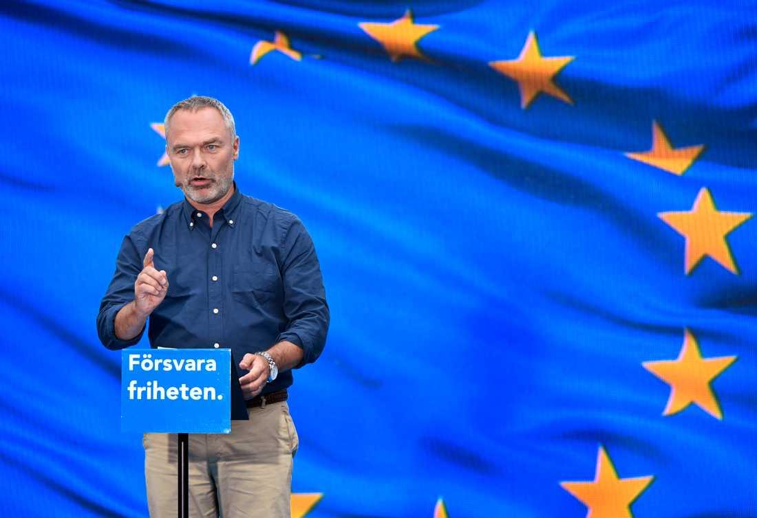 Jan Björklund talade Liberalernas dag under politikerveckan i Almedalen.