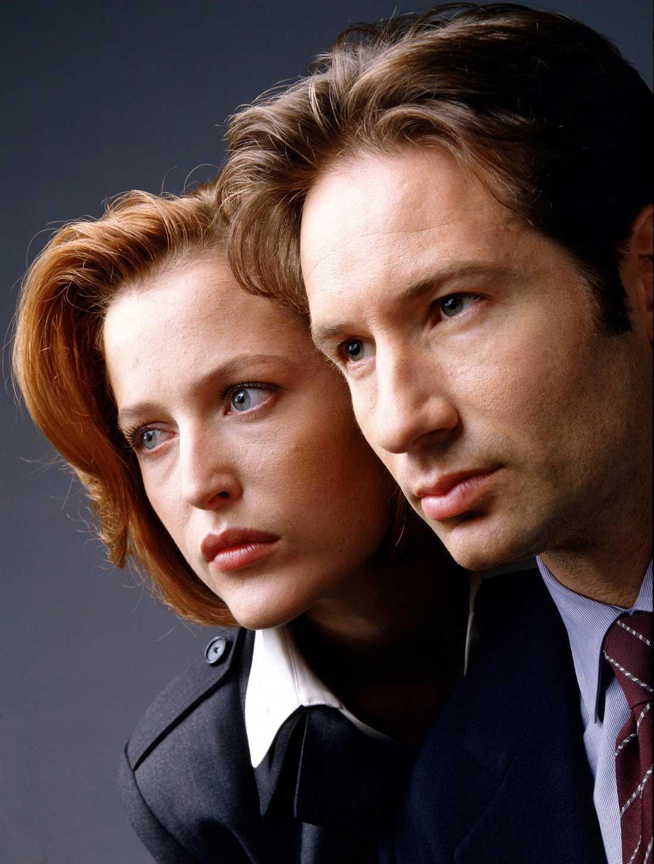 """Gillian Anderson blev känd som Dana Scully i """"Arkiv X""""."""