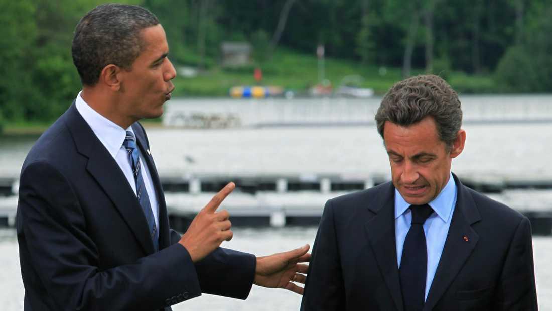 Nu slipper Sarkozy vara avundsjuk på Obama.