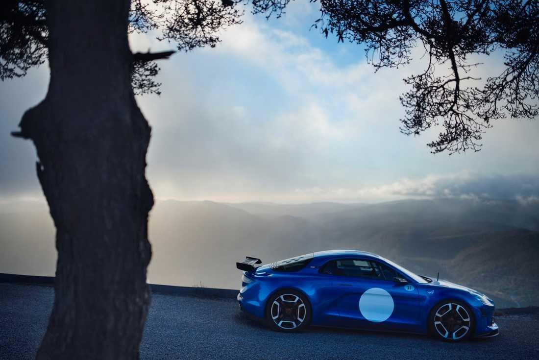 Alpine Vision visades även i en mer prestandaorienterad version, dock okänt vilken typ av motor och vilken effekt bilen har.