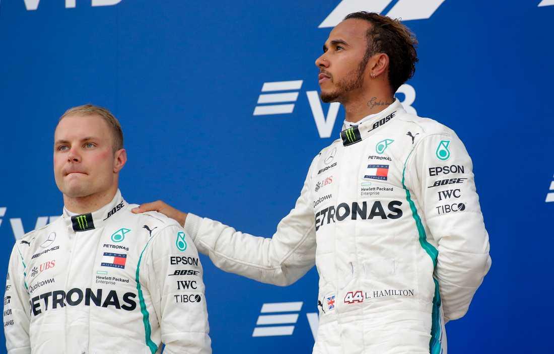 F1-teamet Mercedes ställer krav på Valtteri Bottas för att förlänga kontraktet  till 2020