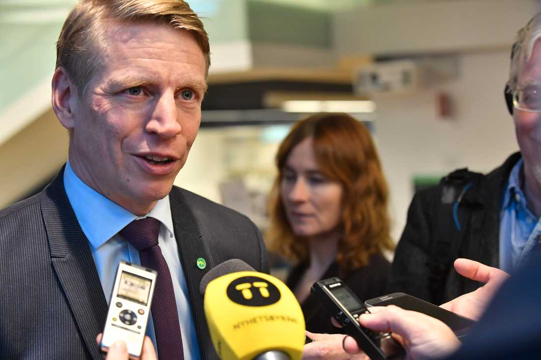 Finansmarknadminister Per Bolund (MP). Arkivbild.
