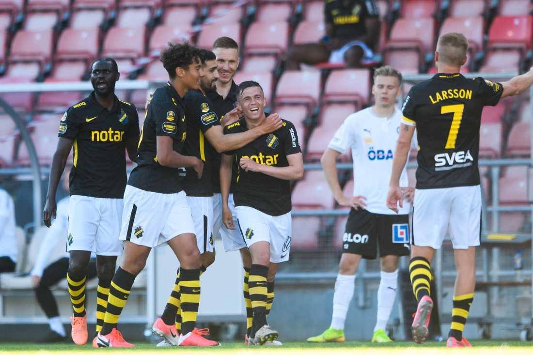 AIK vann premiären mot Örebro.