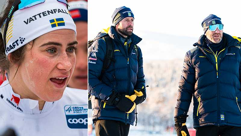 Ebba Andersson och Stefan Thomson och Magnus Ingesson.