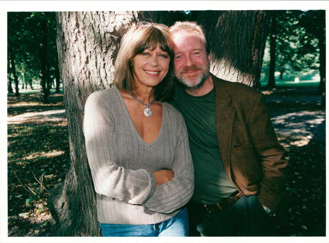 Tio år efter att de skilde sig spelade Lill Lindfors och Brasse Brännström ett gift par i en tv-komedi.