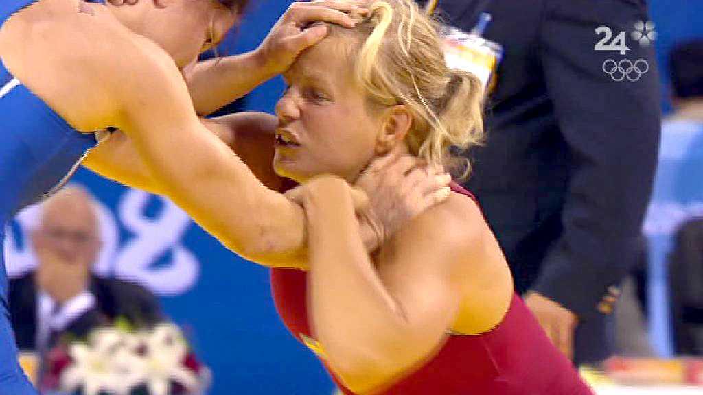 Ida-Therese Nerell föll i bronsmatchen.