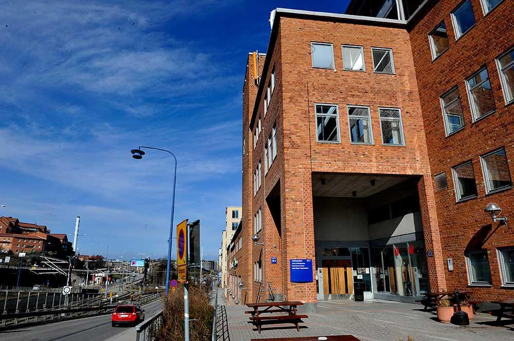 En av John Bauers skolor, vid Liljeholmen i Stockholm.