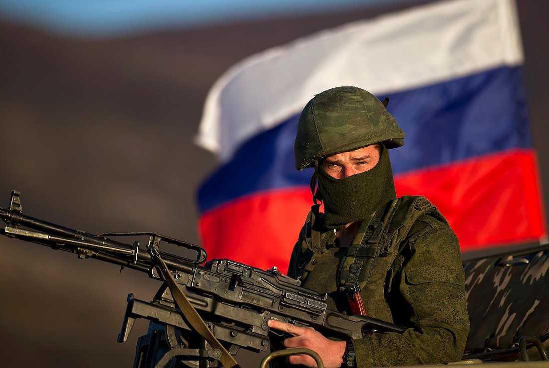 USA:s blivande president Donald Trump har öppnat upp för att erkänna Vladimir Putins annektering av Krimhalvön. Svenska regeringskansliet chockas nu över hans uttalande, då USA har setts som en viktig allierad.