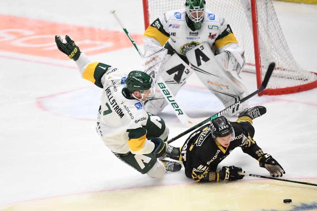 Björklöven kan inte spela den tredje hockeyallsvenska finalen mot Timrå. Arkivbild.